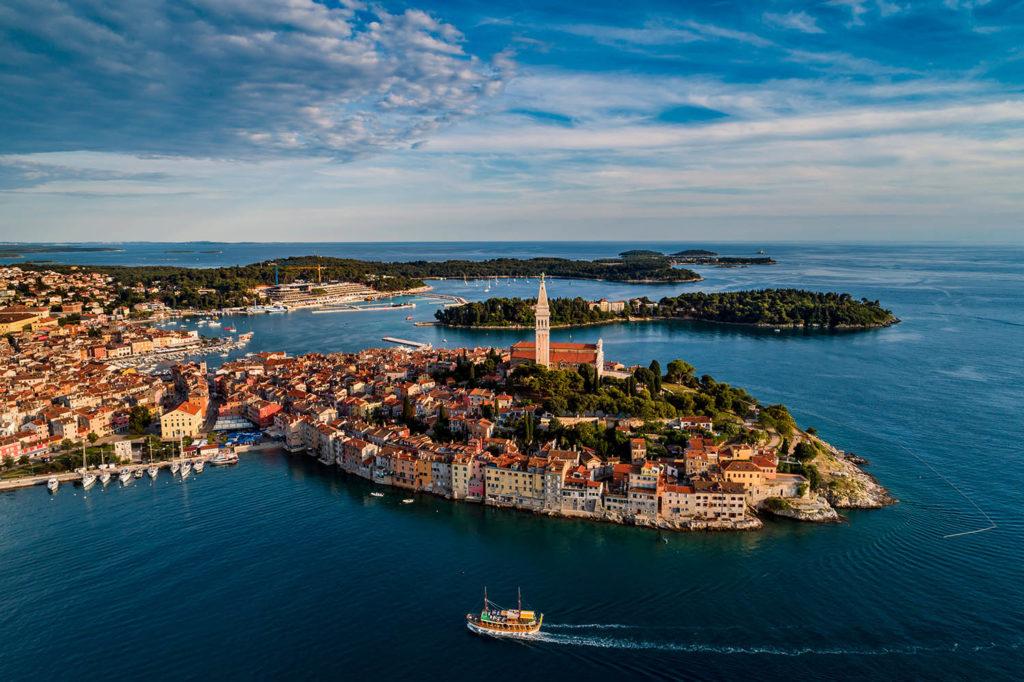city of Rovinj Croatia
