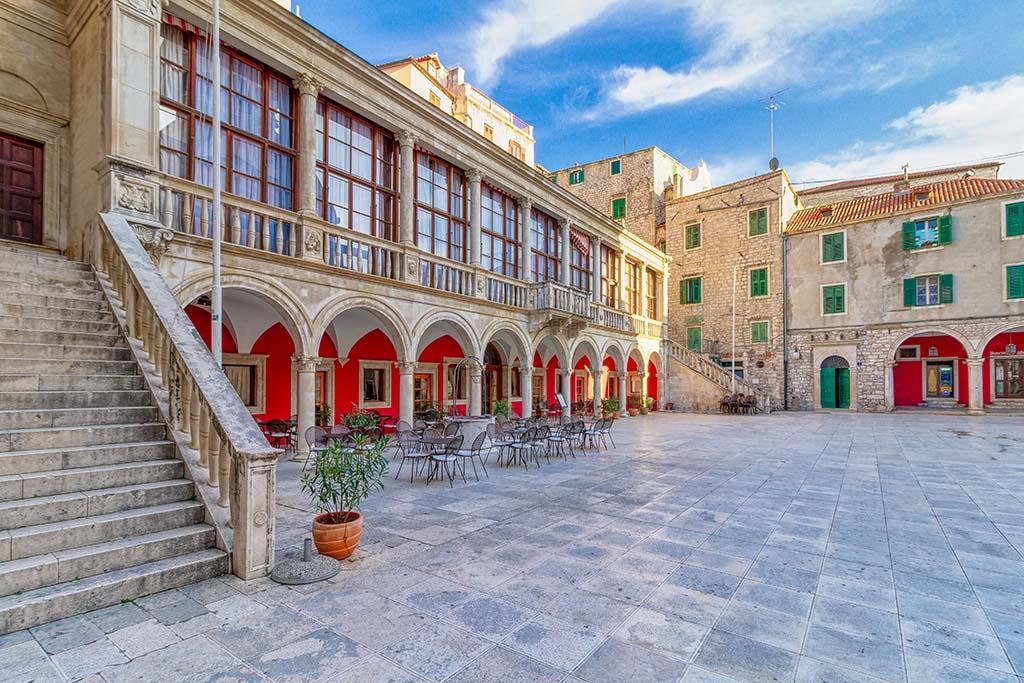 City of Šibenik, Croatia