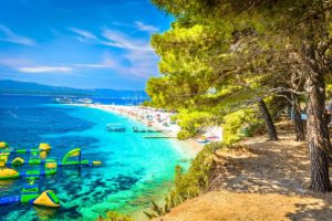 Golden Horn or Golden Cape (also known as Zlatni Rat) - island of Brac, Croatia