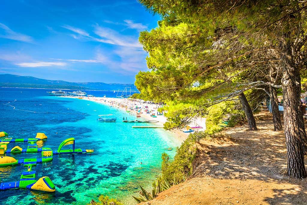 Golden Horn or Golden Cape - island of Bol, Croatia