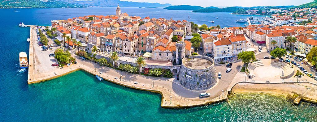 island of Korcula, Croatia