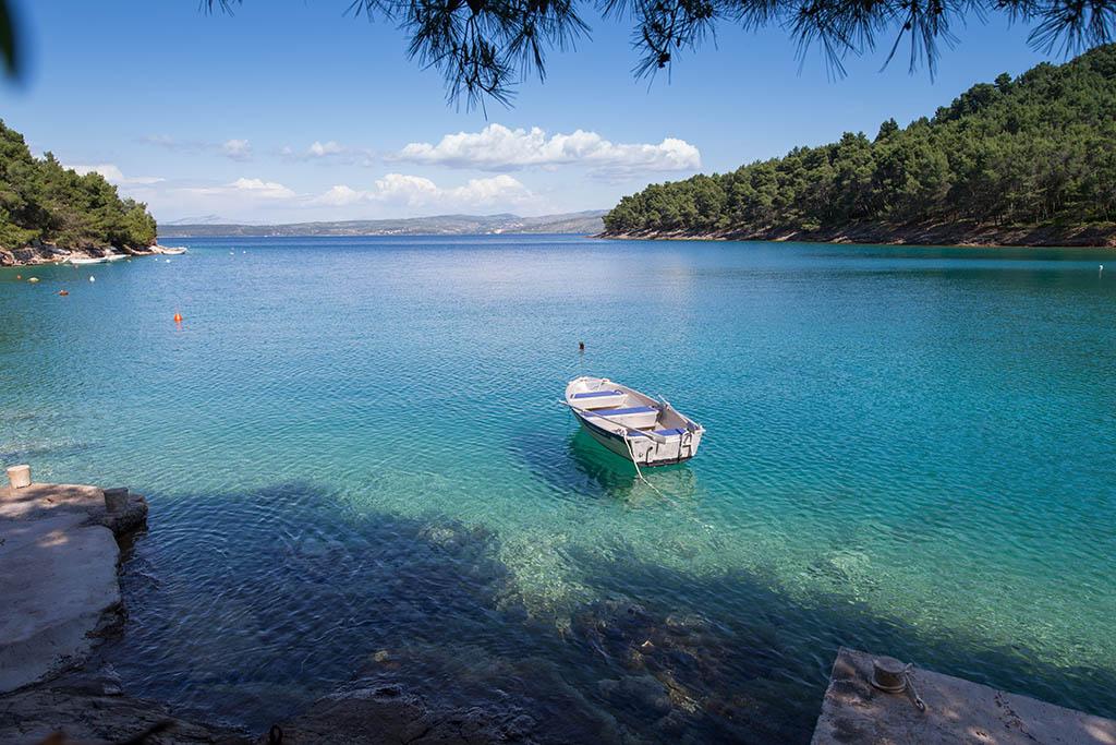 Stomorska, island of Solta, Croatia