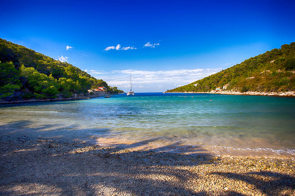 Stoncica bay on island Vis, Croatia