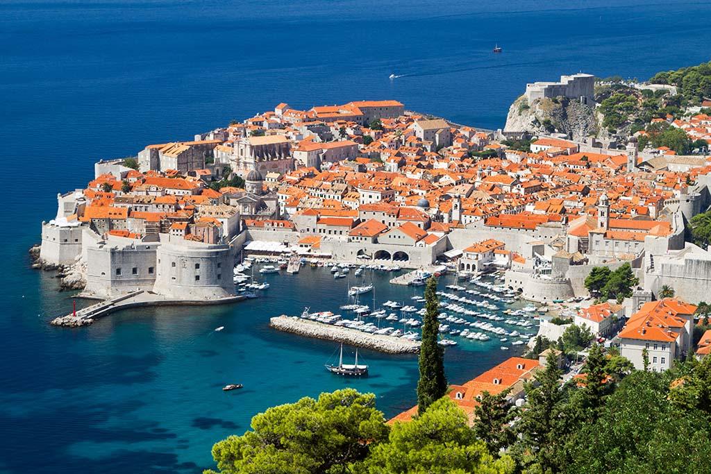 town of Dubrovnik, Croatia