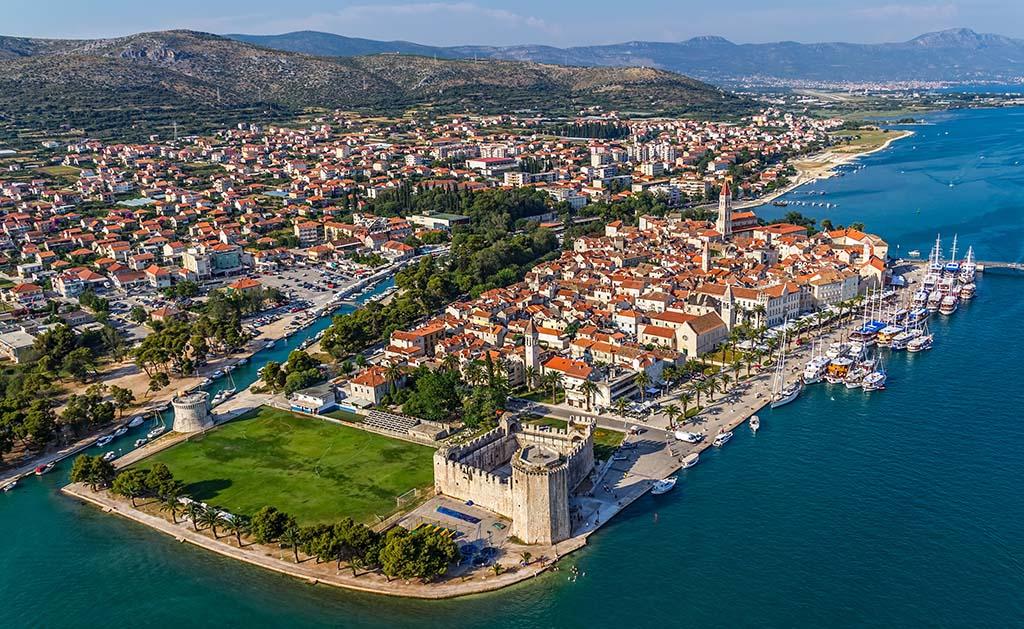 town (city) of Trogir, Croatia